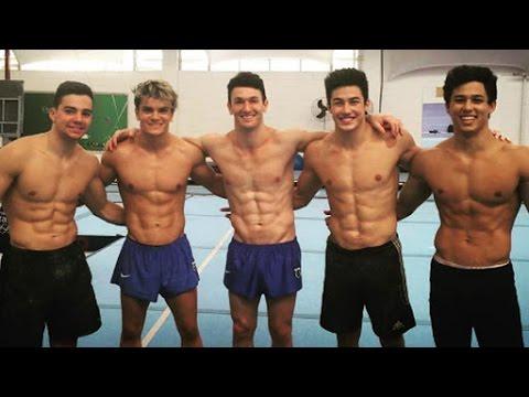 Meet the Hunks of Brazil's Hot Men's Gymnastics Team