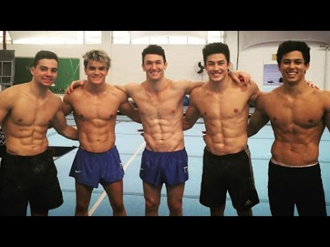 Meet the Hunks of Brazil\'s Hot Men\'s Gymnastics Team