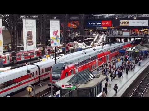 Hamburg Hbf / Central Station / centrala stationen / stazione centrale / gare centrale