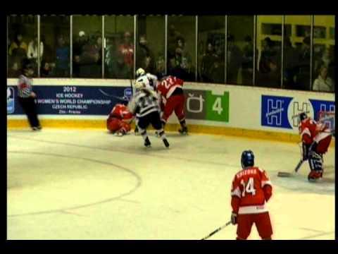 USA vs. Czech Republic: Third Period - 2012 IIHF Women's World U18 Championship