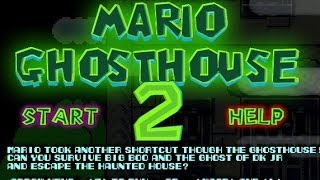 Mario Ghosthouse 2 Walkthrough