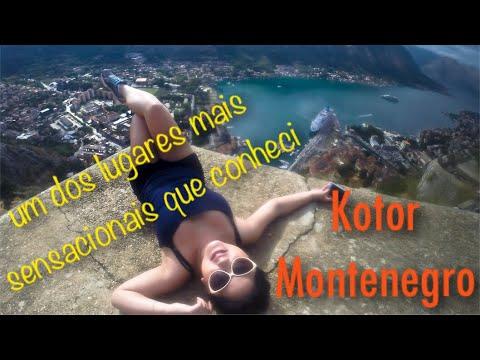 Kotor - Montenegro: Ainda não acredito que subi as muralhas.