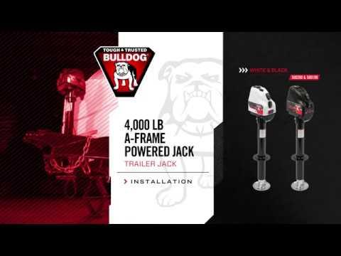 Installation: BULLDOG® 4K A-Frame Powered Jack - YouTube