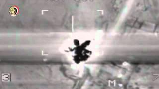 بالفيديو| القوات المسلحة: مقتل 65 إرهابيًا في سيناء