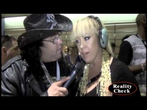 Anita Cannibal shooting her documentary at AVN 2014
