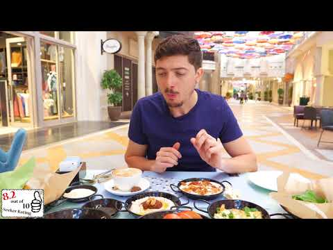 Emirati Breakfast at THE DUBAI MALL | BURJ KHALIFA and THE D