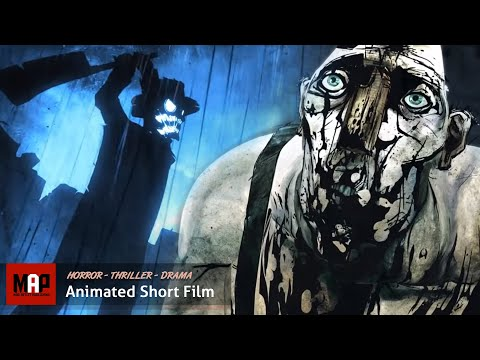 """CGI 3D Animated Short """"THE BLACKWATER GOSPEL"""" Disturbingly Awesome Film by The Animation Workshop"""