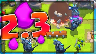 2.3 PEKKA CYCLE DECK • Clash Royale NEW BALANCE CHANGES