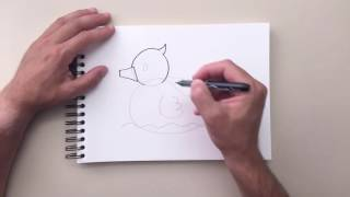 How to Draw - Rubber Ducky