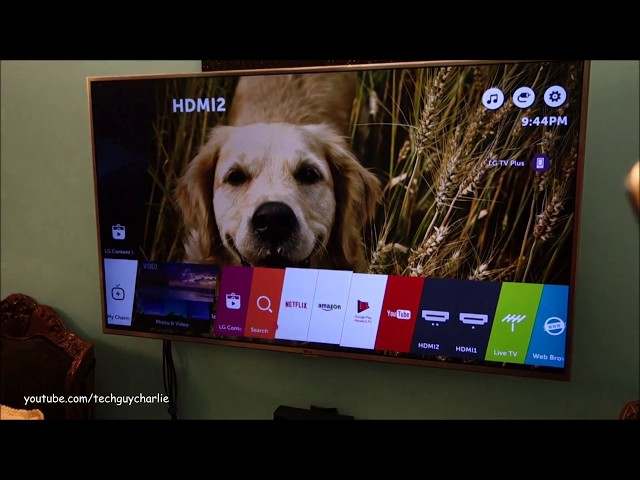 Stream movies and music from your computer to any Smart TV (LG Smart share DLNA server)