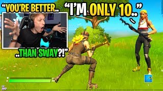 This 10 YEAR OLD can BEAT FaZe Sway in a 1v1 and I called him out... (emotional)
