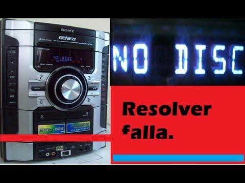 falla en lectura de discos, como resolverlo si invertir dinero, ELECTRONICA NUÑEZ