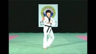 Quyền Taekwondo bài số 4 hệ WTF