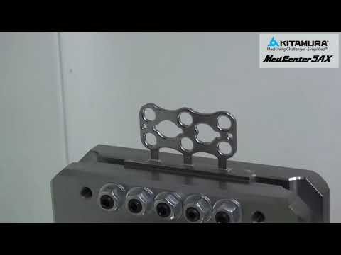 Kitamura MedCenter5AX - THE Machine for Complex Parts and Micro Machining
