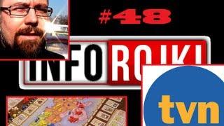 Przegląd Prasy i Tygodnia, Polecane Kanały oraz Rock w TVN (INFOrojki #48)