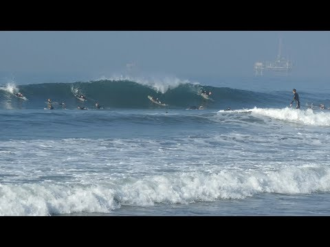 Huntington Beach, CA, Surf, 11/16/2019 AM - Part 2