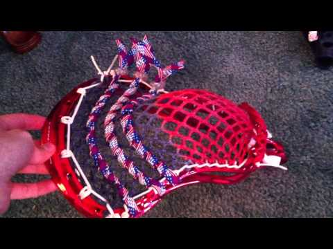Red & Silver Chrome Nike Lakota's & A Navy STX Surgeon w/ DMG MESH and some Mesa Argyle!!