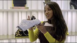 Normani Kordei Stops by a Vocal Coaching Session and Goes Shopping for Shoes on 'Droppin' Cash'