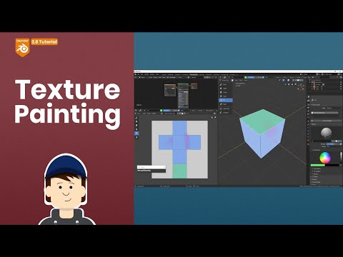 Introduction to Texture Painting | Blender 2.8 Tutorial thumbnail