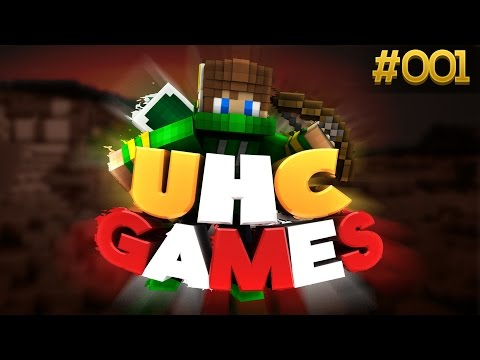 """Minecraft: UHC Games (TheParkMC) #1: """"HOW DO YOU EVEN WIN?!"""""""