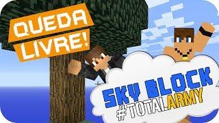 Minecraft Sky Block - Queda Livre! #01 (Novo)
