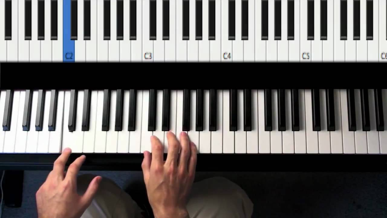 Easy Patterns for Piano Accompaniment - Play and Sing - Chords 101 ...