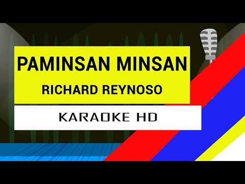 Paminsan Minsan - Richard Reynoso KARAOKE HD