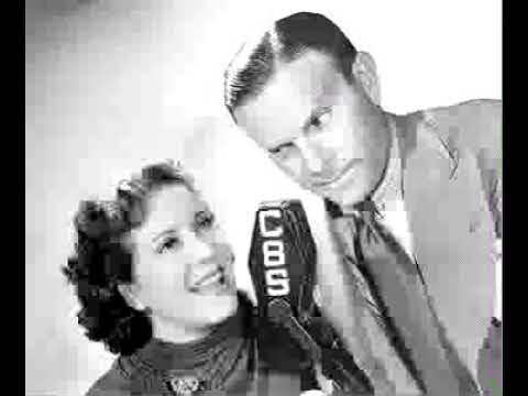 Burns & Allen radio show 10/31/46 Jack Carson / Acting Contest