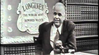 LONGINES CHRONOSCOPE WITH SEN. ROBERT S. KERR