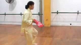 Tai Chi Fan. Ana Wu Master