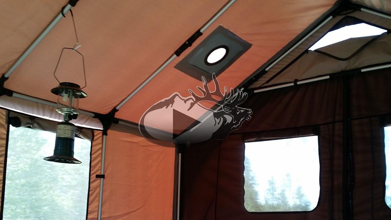 & New Innovative Wall Tent - YouTube
