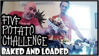 5 Loaded Baked Potato Challenge