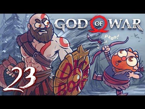 God of War HARD MODE God of War 4 Part 23  w The Completionist  Final Boss Fight + Ending