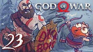 God of War HARD MODE (God of War 4) Part 23 - w/ The Completionist   Final Boss Fight + Ending