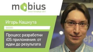 Игорь Кашкута — Процесс разработки iOS приложения: от идеи до результата