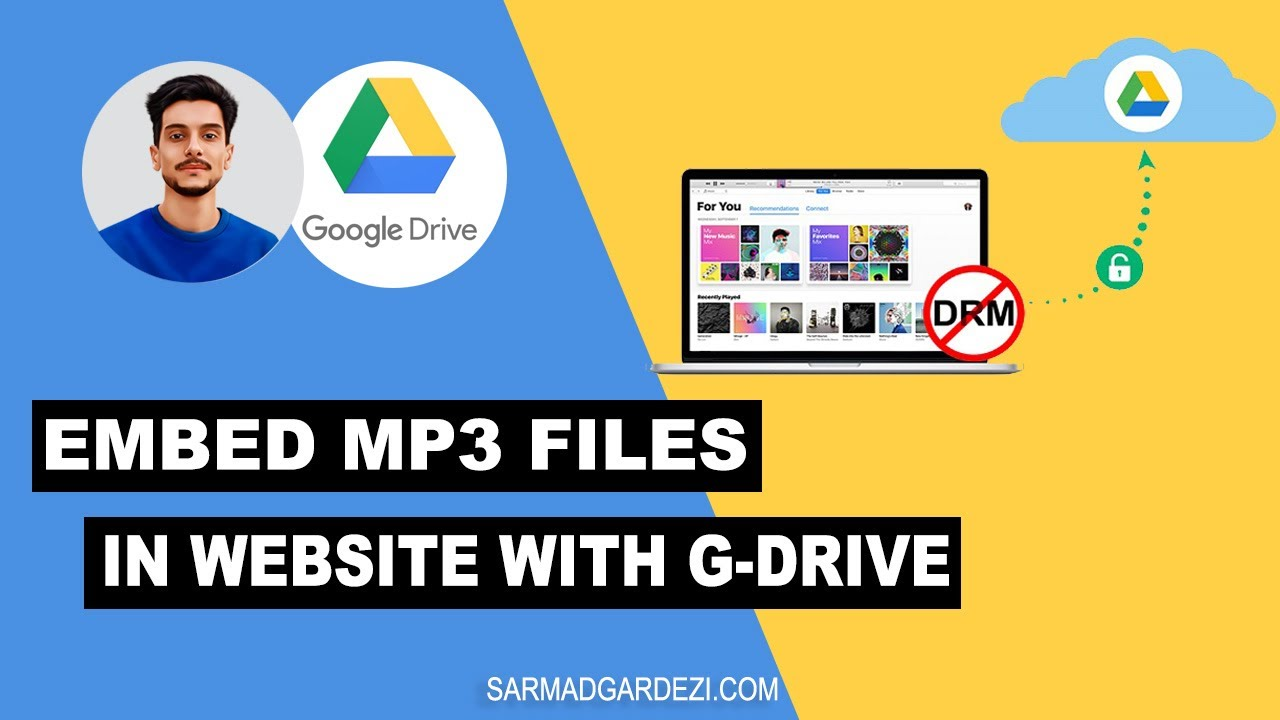 Mp3 Audio How To Embed Mp3 Audio Files In Web Pages With Google Drive