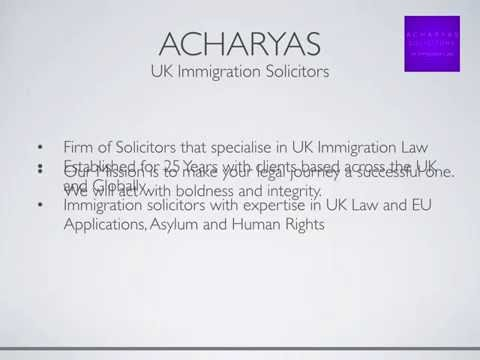 Home - Acharyas Solicitors