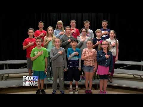 Pledge of Allegiance: Kilmer Elementary School