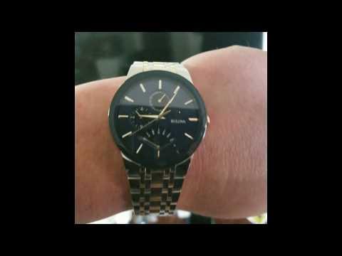 Bulova  Men's Futuro Two-Tone Stainless Steel Bracelet Watch 40mm 98C123   Review From Costco