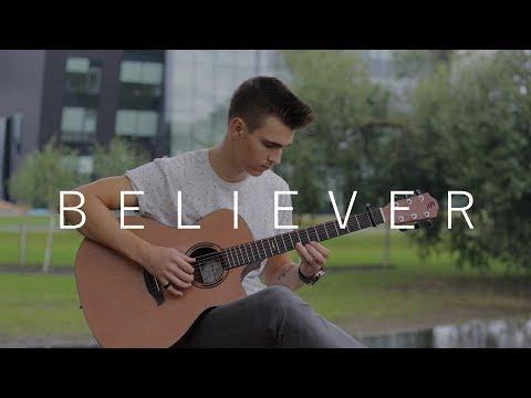 Believer - Imagine Dragons (Fingerstyle Guitar Cover by Vadim Kobal)
