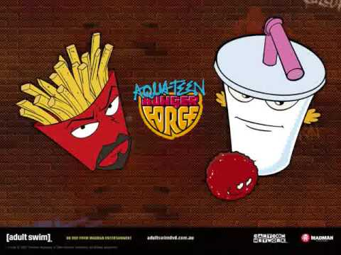 Legendary aqua teen theme song hot. More