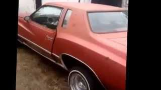 Lowrider 77 monte carlo just brought home and put 13s on it