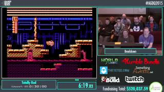Awesome Games Done Quick 2015 - Part 108 - Totally Rad by Breakdown