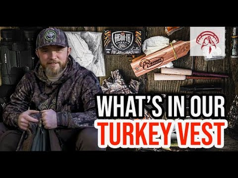What To Pack In Your Turkey Vest | Turkey Hunting Essentials With Jordan Summitt