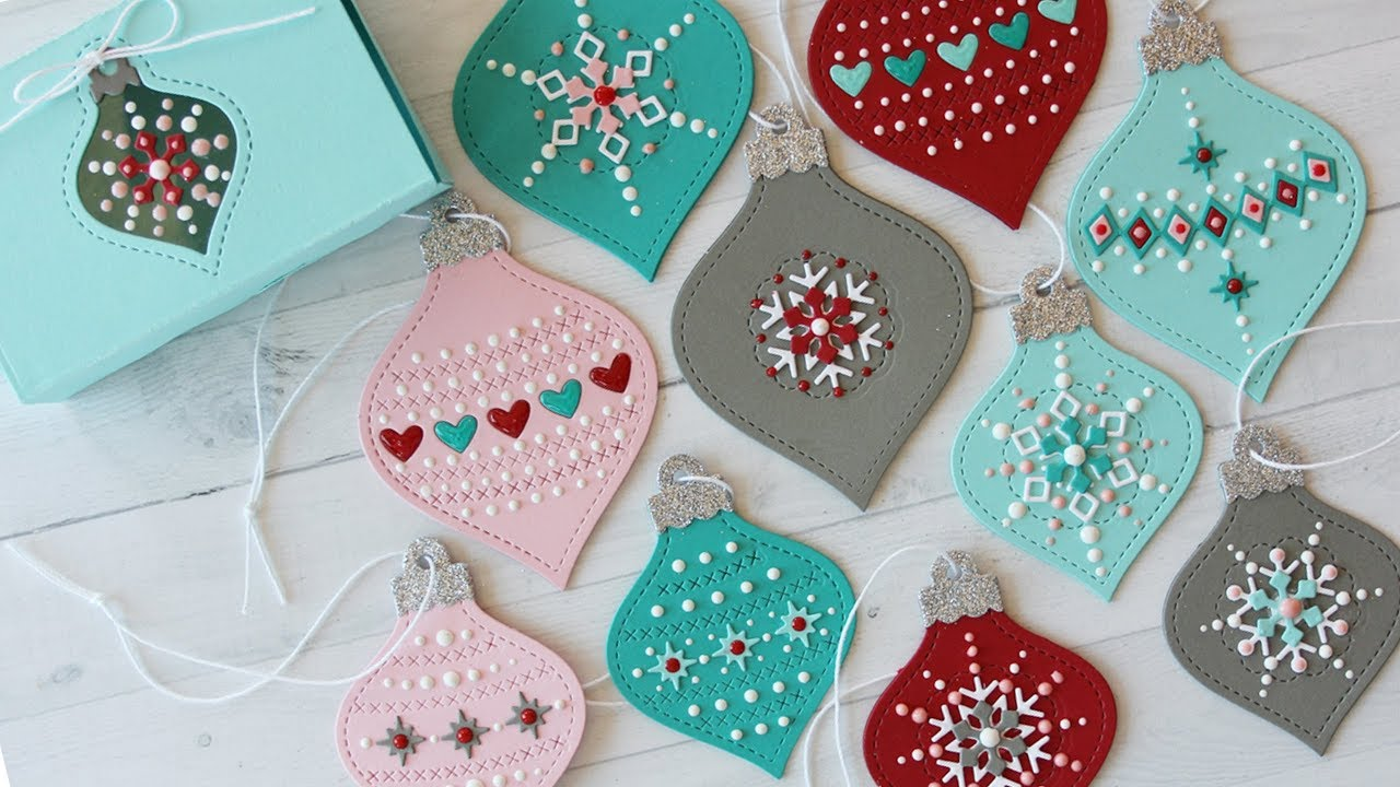 How To Make Christmas Gift Tags