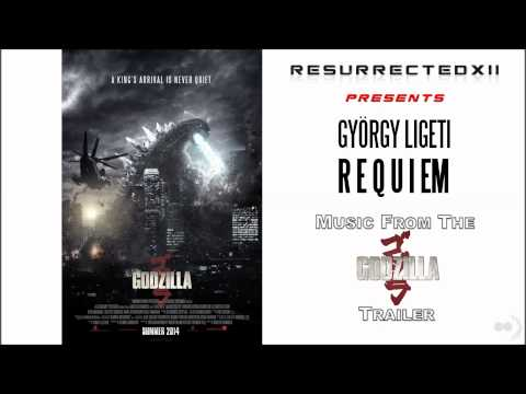 "Godzilla (2014) - All Trailers OST (György Ligeti - ""Requiem"") HQ"