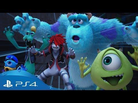 KINGDOM HEARTS III | D23 Tokyo 2018 Monsters, Inc. Trailer | PS4