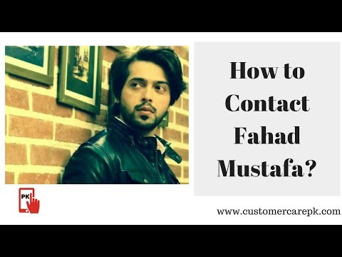 Fahad Mustafa Contact Details, Residence Address, Phone Number, Email ID