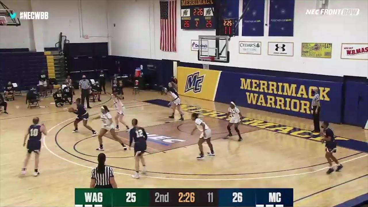 Women's Basketball Highlights vs Wagner (1-30-21)