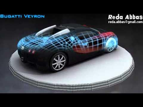 bugatti veyron 3d model youtube. Black Bedroom Furniture Sets. Home Design Ideas